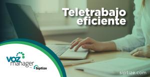 Teletrabajo eficiente